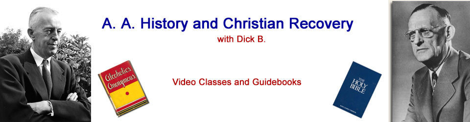 A.A. History and Christian Recovery